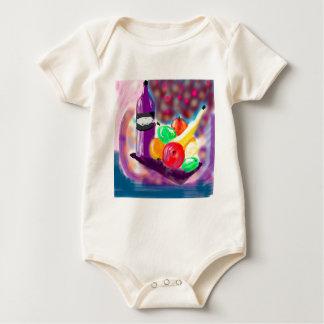 still-life baby bodysuit
