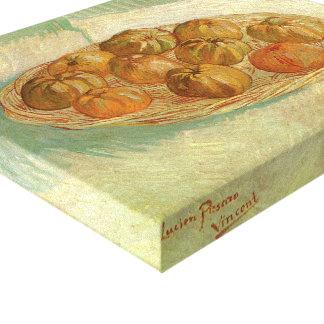 Still Life, Basket of Apples by Vincent van Gogh Canvas Print