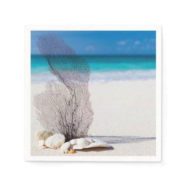 Beach Themed Still Life Beach Napkin