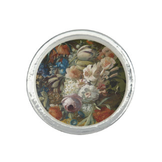 Still life bouquet of flowers photo ring