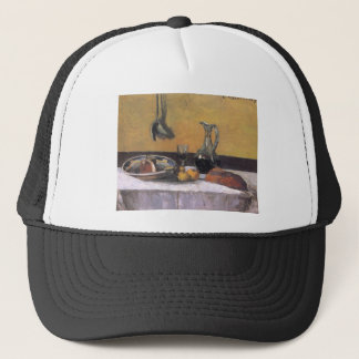 Still life by Camille Pissarro Trucker Hat