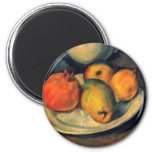 Still Life by Cezanne Magnets