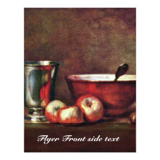 "Still Life By Chardin Jean-Baptiste Siméon (Best Q 8.5"" X 11"" Flyer"