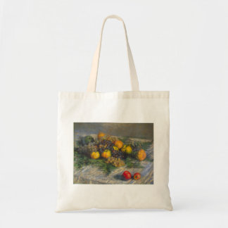 Still Life by Claude Monet Tote Bags