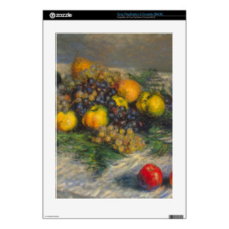 Still Life by Claude Monet Decals For The PS3