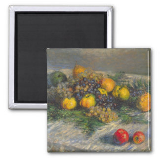 Still Life by Claude Monet Magnets