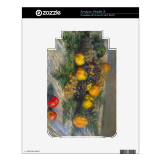 Still Life by Claude Monet Skins For The Kindle 3