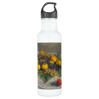 Still Life by Claude Monet Stainless Steel Water Bottle