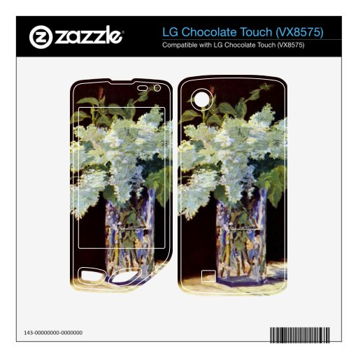 Still Life by Edouard Manet LG Chocolate Touch Decals
