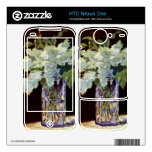 Still Life by Edouard Manet Decals For HTC Nexus One