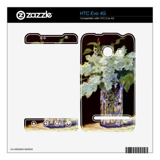 Still Life by Edouard Manet HTC Evo 4G Decal