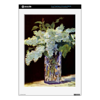 Still Life by Edouard Manet Skin For PS3 Console