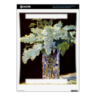 Still Life by Edouard Manet Xbox 360 Console Decal