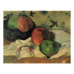 Still Life by Eug�ne Henri Paul Gauguin Poster