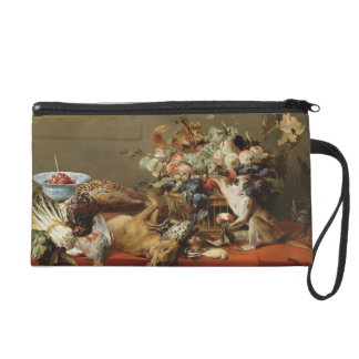 Still Life by Frans Snyders Wristlet