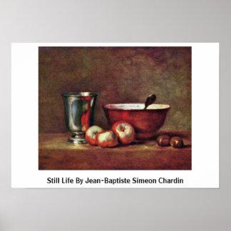 Still Life By Jean-Baptiste Simeon Chardin Poster