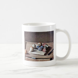 Still Life By Liotard Jean-ÉTienne (Best Quality) Coffee Mugs