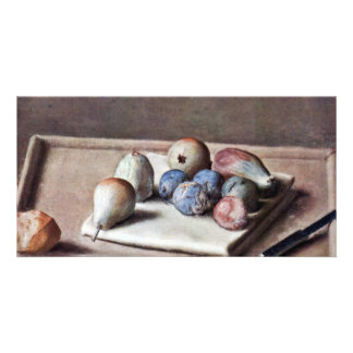 Still Life By Liotard Jean-ÉTienne (Best Quality) Picture Card