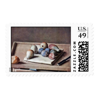 Still Life By Liotard Jean-ÉTienne (Best Quality) Stamps