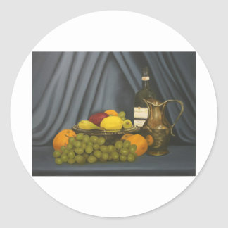 still life by Lucinda Knowlton Classic Round Sticker