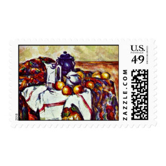 Still Life By Paul Cézanne (Best Quality) Postage Stamps