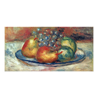 Still Life By Pierre-Auguste Renoir (Best Quality) Picture Card