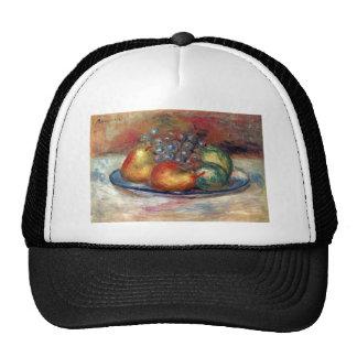 Still Life by Pierre Renoir Trucker Hats