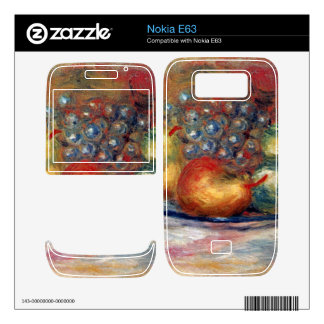 Still Life by Pierre Renoir Decal For The Nokia E63