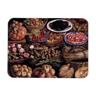 Still Life by Vincenzo Campi Rectangular Photo Magnet