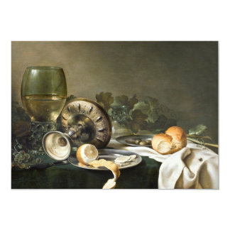 Still Life by Willem Claeszoon Heda Card