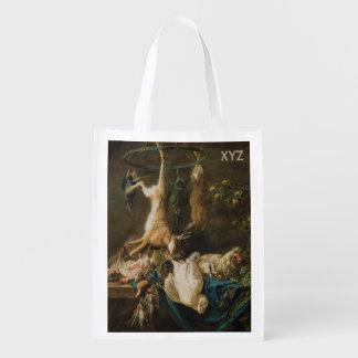 Still Life custom monogram reusable bag