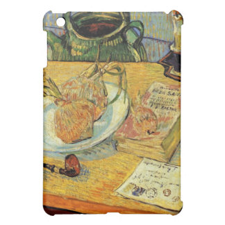 Still Life Drawing Board, Pipe, Onions and Sealing iPad Mini Cover