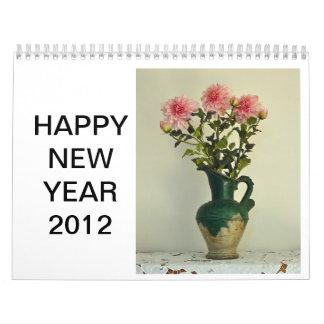Still Life Floral Calendar