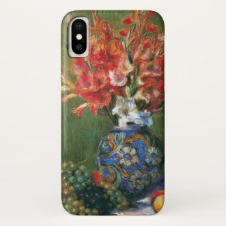 Still Life Flowers and Fruit by Pierre Renoir iPhone X Case