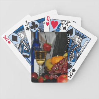 Still life Fruit and Wine Playing Cards