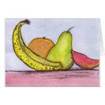 Still Life Fruit Cards