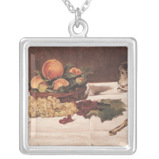 Still Life: Fruit on a Table, 1864 Necklace