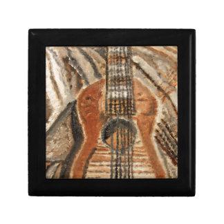 """Still Life Guitar"" Artwork by Carter L. Shepard"" Jewelry Box"