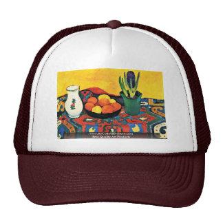 Still Life: Hyacinth Rug By Macke August Trucker Hat