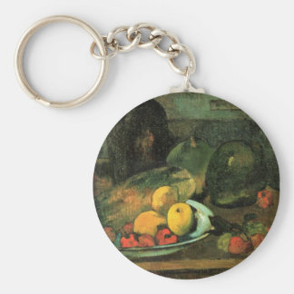 Still life in front of a stitch - Paul Gauguin Keychain