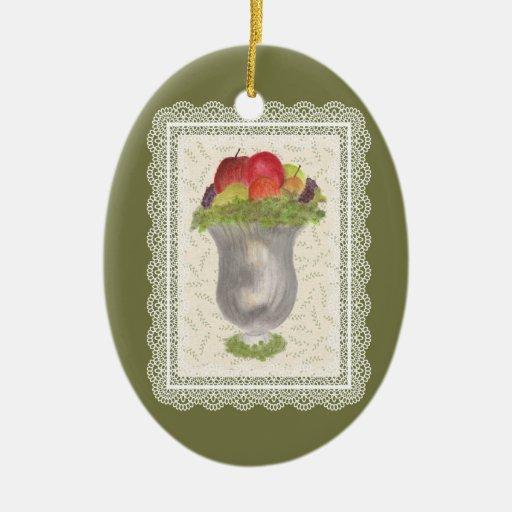 Still Life in Mercury Glass Ornament