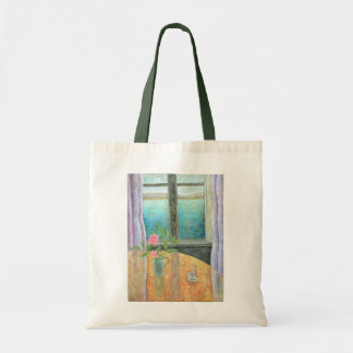 Still Life in Window with Camellia 2012 Tote Bag