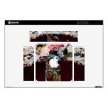 Still life, lilac and roses by Edouard Manet Mac Mini Decal