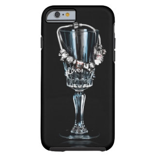 Still Life Love iPhone 6 case with glass and brace