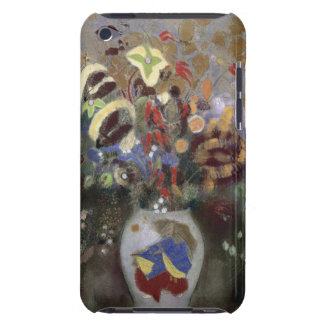 Still Life of a Vase of Flowers (pastel on paper) iPod Touch Case