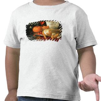 Still life of an orange t shirt