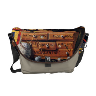 5917a7ce9d Still Life of Boys Toys Courier Bag