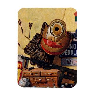 Still Life of Boys Toys Magnet