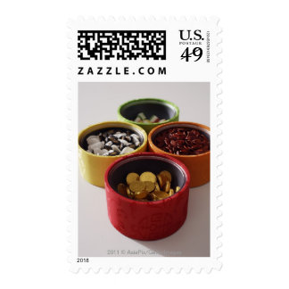 Still life of Chinese new year treats Postage Stamps