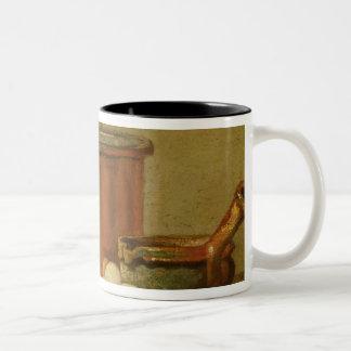 Still Life of Cooking Utensils, Cauldron Two-Tone Coffee Mug